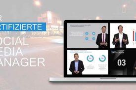 Der Zertifizierte Social Media Manager als Online-Kurs